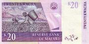 20 Kwacha – revers