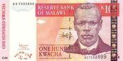 100 Kwacha – avers