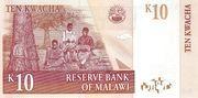 10 Kwacha – revers