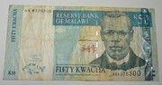 50 Kwacha 2001-2004 – avers