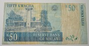 50 Kwacha 2001-2004 – revers