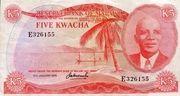 5 Kwacha – avers