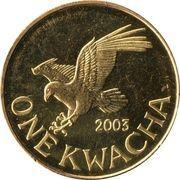 1 kwacha – revers