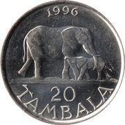20 tambala – revers