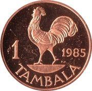 1 tambala – revers