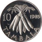 10 tambala – revers