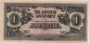 1 Dollar (Japanese Government) – avers