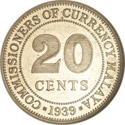 20 cents – revers