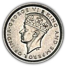 10 cents - George VI – avers