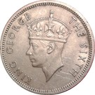 20 cents - George VI – avers