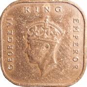 1 cent (George VI) – avers