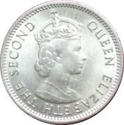 5 cents (Elizabeth II) – avers