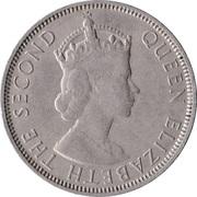 50 cents (Elizabeth II) – avers