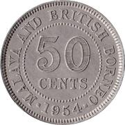 50 cents (Elizabeth II) – revers