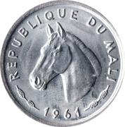 10 francs maliens – avers