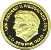 100 francs CFA (Richard von Weizsäcker) – revers