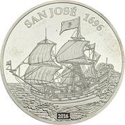 1000 Francs CFA (San José) – revers