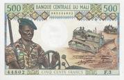 500 FRANCS  MALI – avers
