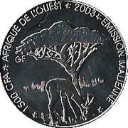 1500 CFA / 1 AFRICA – avers