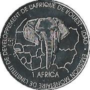 1500 CFA / 1 AFRICA – revers