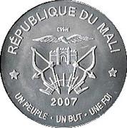 2500 Francs (Abolition de l'esclavage) – avers
