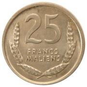 25 francs maliens – revers