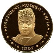 "50 francs (President Modibo Keita; ""1967"") – revers"