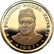 "100 francs (President Modibo Keita; ""1967"") – revers"