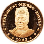 "10 francs (President Modibo Keita; ""1967"") – revers"