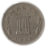5 cents -  avers
