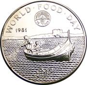 2 Liri (Journée mondiale de l'alimentation) – revers