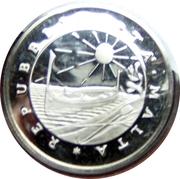 1 pound (départ des forces étrangères) – avers