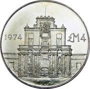 4 Liri (Porte de Cottonera) – revers