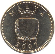 1 cent -  avers