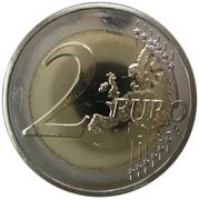 2 euros Premier vol depuis Malte -  revers