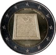 2 euros Proclamation de la République -  avers
