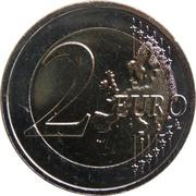 2 euros Proclamation de la République -  revers