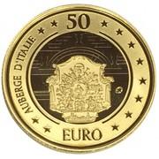 50 euros Auberge d'Italie – avers