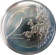 2 euros Temple de Ħaġar Qim -  revers