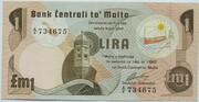 1 Lira – avers