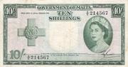10 Shillings 1954 – avers