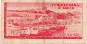 10 Shillings (1967) – revers