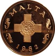 1 cent (10ème anniversaire du système décimal) – avers
