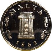 5 cents (10ème anniversaire du système décimal) – avers