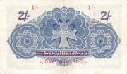 1 Shilling (Overprint) – revers
