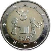 2 euros La Paix -  avers