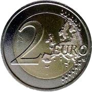 2 euros La Paix -  revers