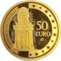 50 euros Auberge de Castille – revers