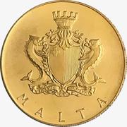 50 Liri (Neptune) – avers