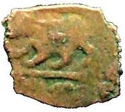Fals - al-Nasir Faraj (Burji dynasty - Halab Mint) -  revers
